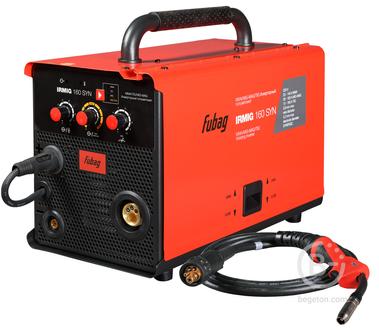 Полуавтоматические сварочные аппараты Сварочный полуавтомат Fubag IRMIG 160 SYN (31445) + горелка FB 150_3 м (38440)
