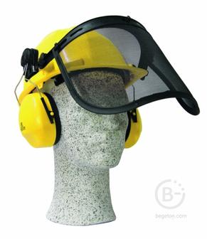 Строительные каски Шлем защитный комбинированный CHAMPION