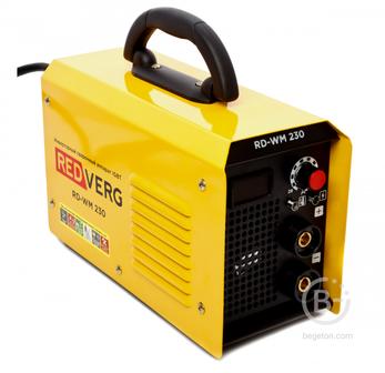 Сварочные инверторы Аппарат сварочный бестрансформаторный RedVerg RD-WM 230