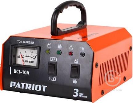 Импульсное зарядное устройство PATRIOT BCI 10A 650303410