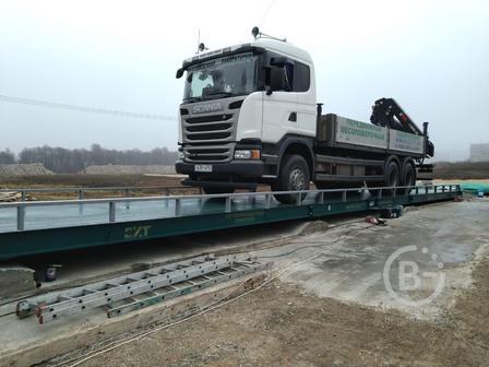 Весы автомобильные 100 тонн ВА-СХТ-100