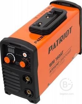 Сварочный аппарат PATRIOT WM 160AT MMA 605302616