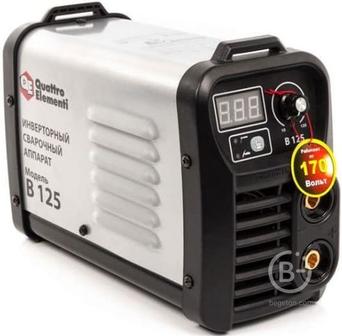 Инверторный аппарат электродной сварки QUATTRO ELEMENTI B 225 641-114