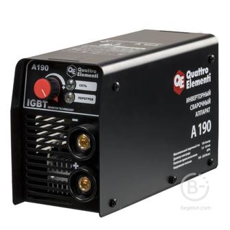Инверторный аппарат электродной сварки QUATTRO ELEMENTI A 190 248-528