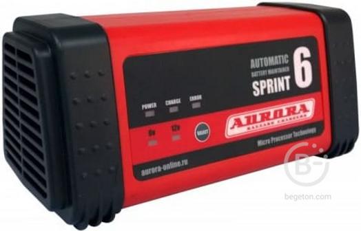 Зарядное устройство, 12 В Aurora SPRINT 6 automatic 14706