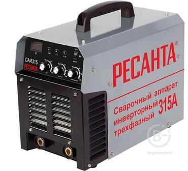 Сварочный аппарат инверторный САИ 315 3ф Ресанта 65/25