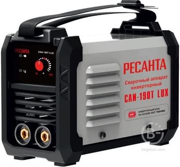 Сварочный аппарат инверторный САИ-190Т LUX Ресанта 65/70