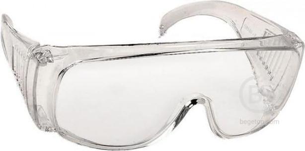 Прозрачные, защитные очки открытого типа, с боковой вентиляцией DEXX 11050_z01
