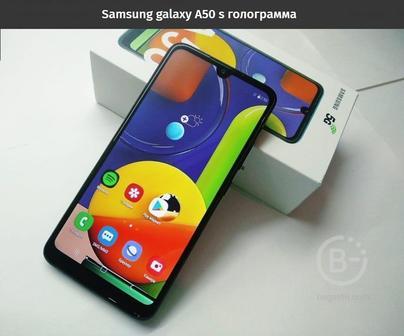 Samsung galaxy A50 s
