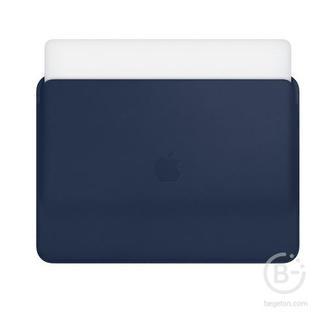 Кожаный чехол Apple Leather Sleeve для MacBook Pro 13 тёмно-синий цвет MRQL2ZM/A Leather Sleeve для MacBook Pro 13 тёмно-синий цвет