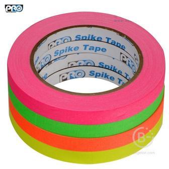 Скотч ProTapes флуоресцентный текстильный в наборе из 4 цветов gaffer tape для сцены и осветительного оборудования. 001UPCGS1220MFLUOR флуоресцентный текстильный в наборе из 4 цветов gaffer tape для сцены и осветительного оборудования.