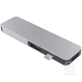 Хаб Hyper HyperDrive SOLO 7-in-1 Hub USB-C серебряный GN21D-SILVER HyperDrive SOLO 7-in-1 Hub USB-C серебряный