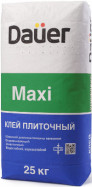 Клей для плитки, керамогранита и декоративного камня DAUER MAXI  МАКСИ 25кг