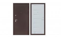 Входная дверь Лабиринт Классик 14 (Антик медный / Дуб кантри белый)