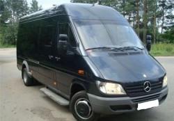 Заказ микроавтобуса, перевозка пассажиров
