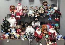 Куклы ручной работы: Домовые Гномы Шуты, баба Яга