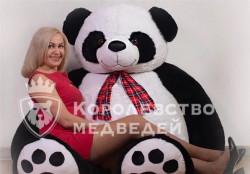 Большие плюшевые Панды подарок игрушка