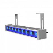 Светодиодный светильник ПромЛед Барокко 10 500 Оптик Синий