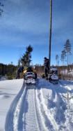Снегоходное сафари - 2 часовое катание на снегоходах.