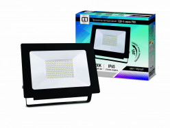 Прожектор светодиодный уличный LLT СДО 5 100 серии PRO 100Вт 6500К 9500Лм LED SMD IP65