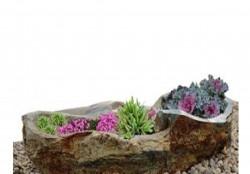 Клумбы Цветники из природного камня