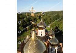 Изготовление куполов и крестов для церквей, храмов