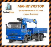 Манипулятор услуги аренды строительной спецтехники в Ульяновске