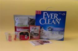 ПОДАРОК - сухой и влажный корм суперпремиум класса и наполнитель для туалета Ever Clean