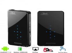 DLP мини-проектор X2 с пультом (Android / Wifi / Bluetooth / АКБ / HDMI / USB / TF)