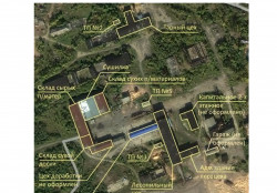 Пром. площадка для деревообработки, 7600 м²