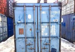 Морской контейнер 20 Футов бу snbu 2137060