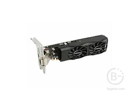 GTX 1050 2Gb GDDR5 128bit PCI-E 3.0 NVIDIA PALIT StormX 1354@1455Mhz 7000Mhz RTL