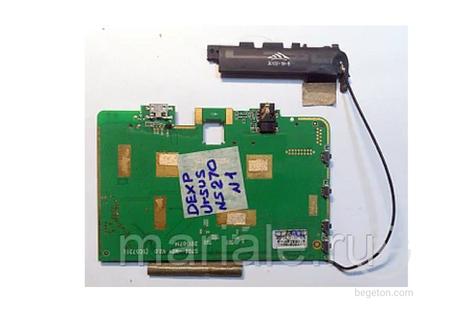 Плата системная для планшета DEXP Ursus NS270 Hit 4 Гб 3G