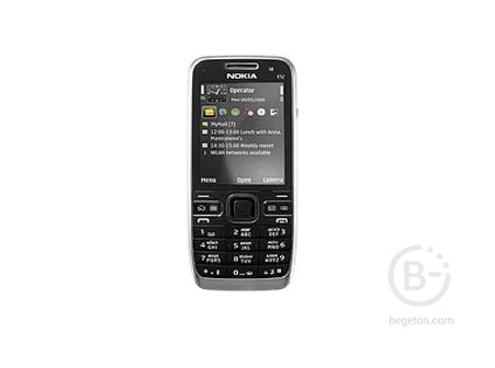 Мобильный телефон Nokia E52 Черный