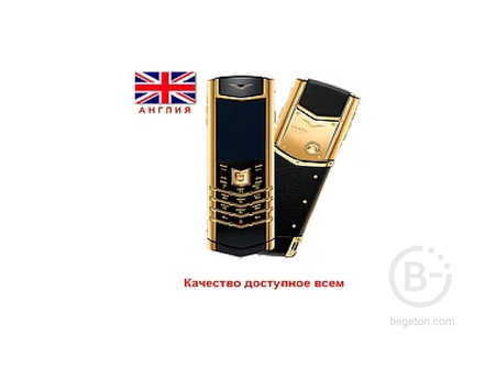 Телефон Vertu Signature S Design Gold Англия