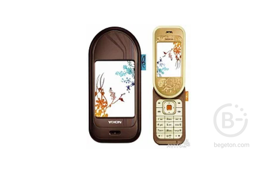 Nokia 7370 Gold 1.3Mpx, FM, Bluetooth