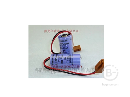 Литиевая батарея Panasonic BR-2/3AGC2P (BR-2/3AC2P) 3V