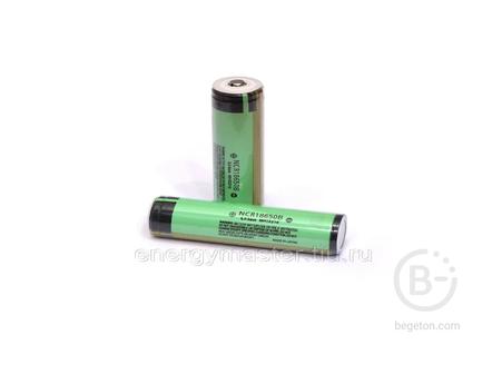 Аккумулятор Panasonic NCR18650B 3400mAh 3,6V с защитой