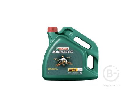 """Масло моторное """"CASTROL"""" Magnatek 5w-30 A3/B4 NEW синт. 4л."""