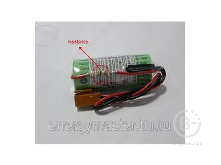 Литиевая батарея Sanyo CR17450SE-R (3V) A98L-0031-0012