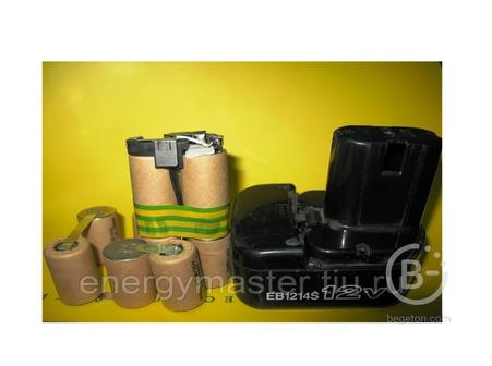 Аккумулятор для шуруповерта Makita Bosch Hitachi Metabo - замена аккумуляторной сборки