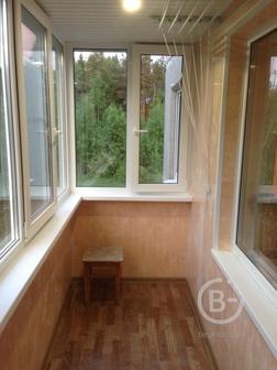 Остекленение балконов