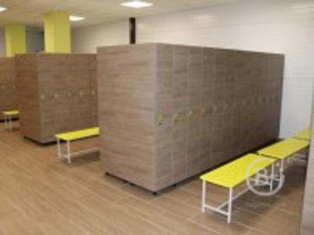 Мебель для фитнес центров