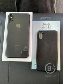 Iphone X 256 GB Black б/у 500 €