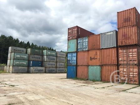 Продаются морские контейнеры 20'DC (футов)