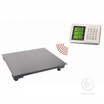Беспроводные весы счетные платформенные электронные BLES
