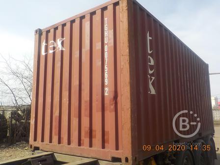 Продаются морские контейнеры 20'DC футов
