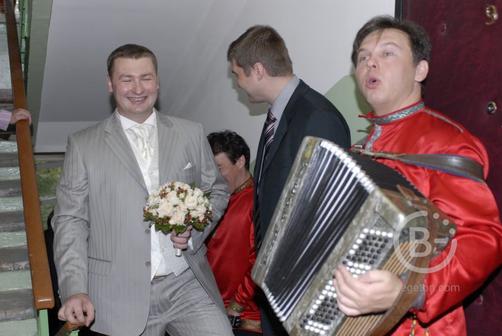 Баянист на праздник и свадьбу.