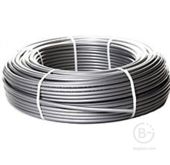 Труба сшит. полиэт. 16(2.2) 200м ASB PERT EVOH (серый)