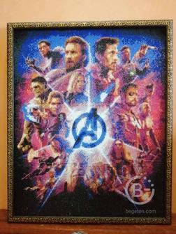 """Картина """"Marvel""""."""